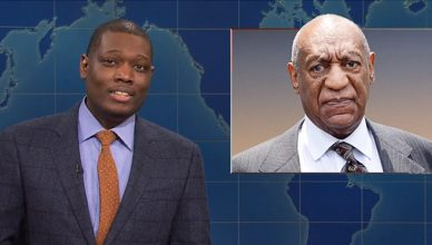 Saturday Night Live Weekend Update on Nov. 2, 2019. (Credit: NBC)