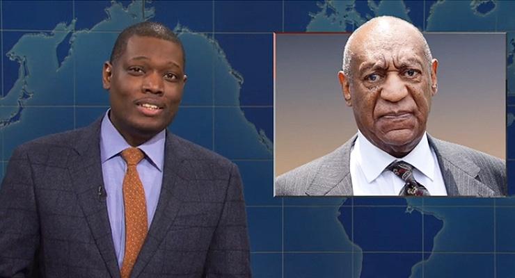 Saturday Night Live Weekend Update on Nov. 2, 2019. (Credit: NBC)