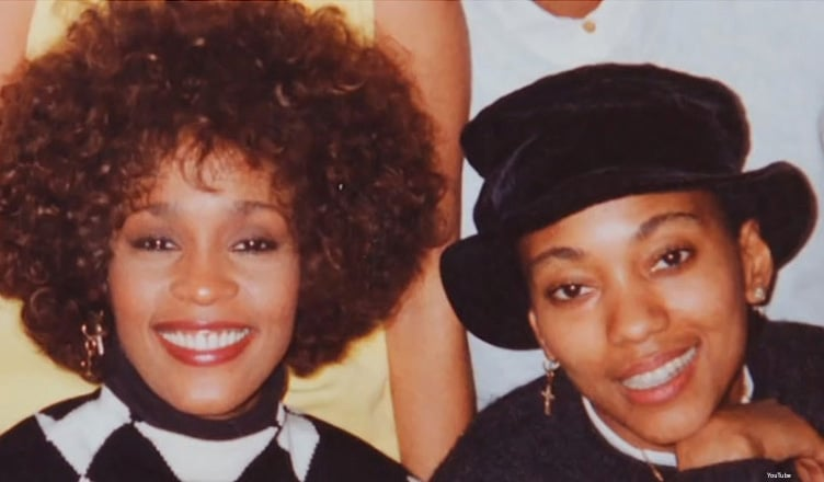 Whitney Houston and Robyn Crawford (Credit: YouTube)