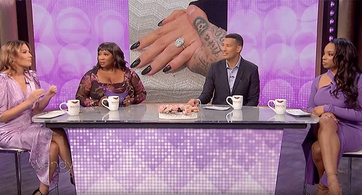 'The Wendy Williams Show' guest panelists talk while on the show's season 13 premiere on Monday, Oct. 18, 2021. Credit: Instagram